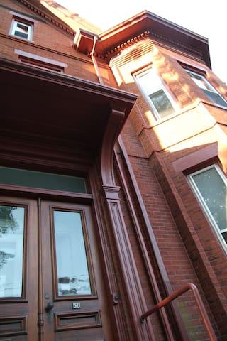 Historic Brownstone-Deering Street