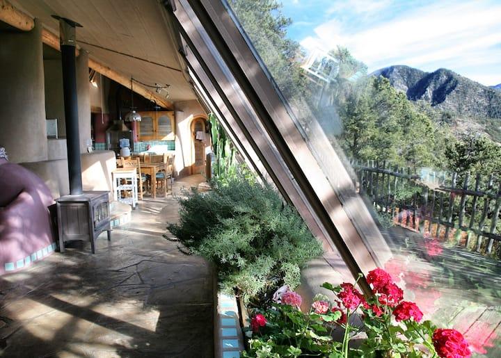 Taos Earthship: Amazing Mountain Retreat