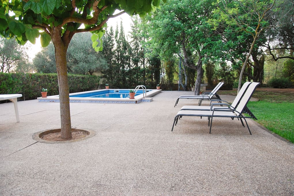 Gran villa con piscina villen zur miete in santa eug nia for Piscina santa eugenia