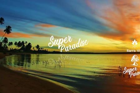 Super Paradise~ Chalé na Barra do Rio Mamanguape~