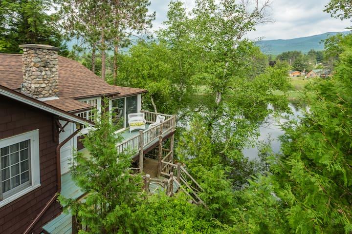 Adirondack River Get Away - Wilmington - Blockhütte