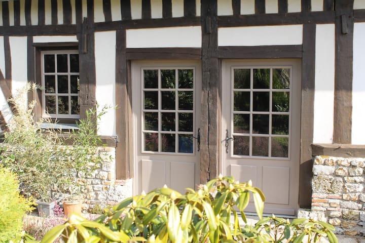 Maison normande 5 mn Honfleur - GENNEVILLE