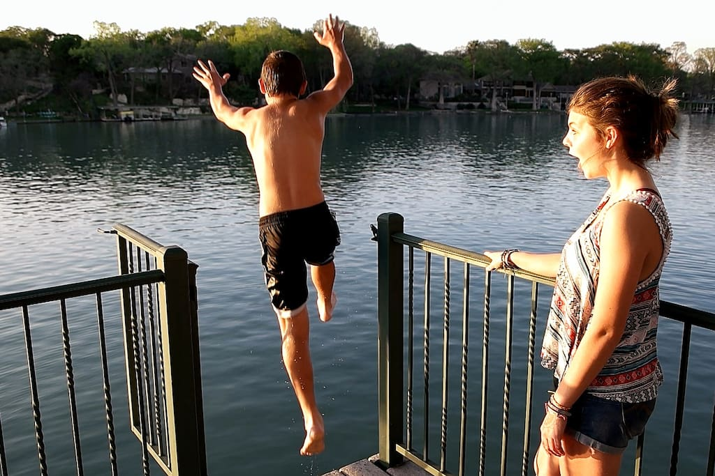 Jumping off the Deck