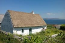 Cottage on the Aran Islands which can be visited on a day trip by boat.