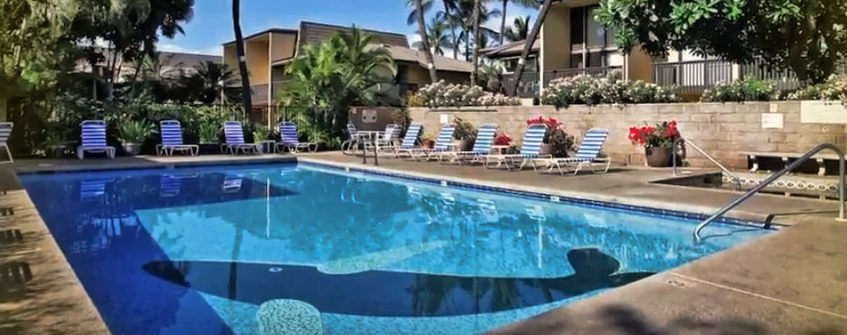 Spacious Kihei 1B/1BA - Just a few steps to beach!