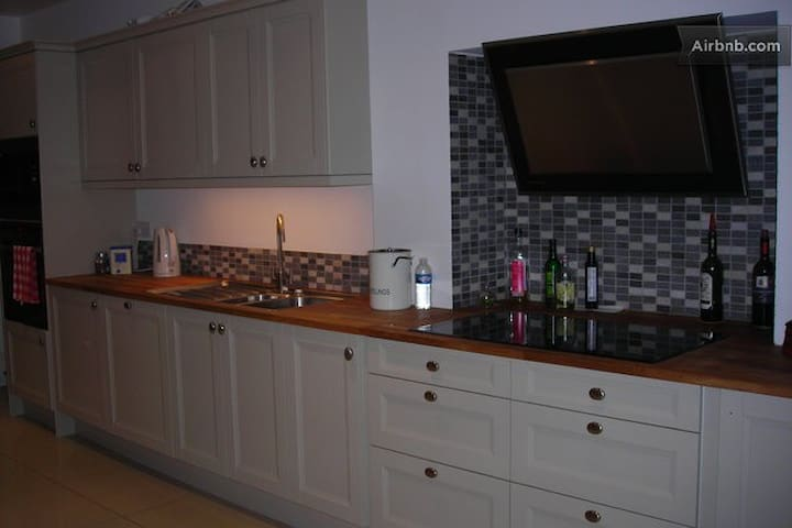 Our kitchen in which you may prepare light meals in