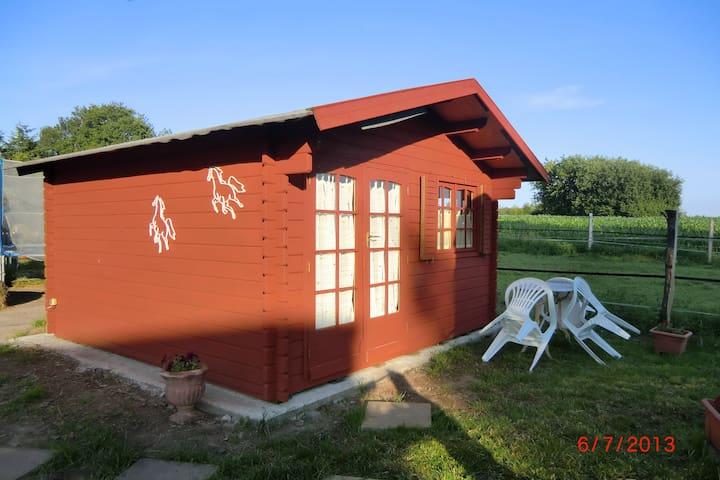 Blockhütte für 2-3 Alpakas&Mee(h)r - Pohnsdorf - Casa de campo