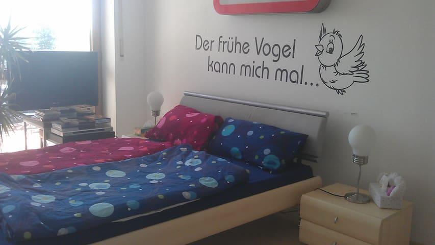 Zimmer in Privatwohnung mit Balkon - Aichach - Casa