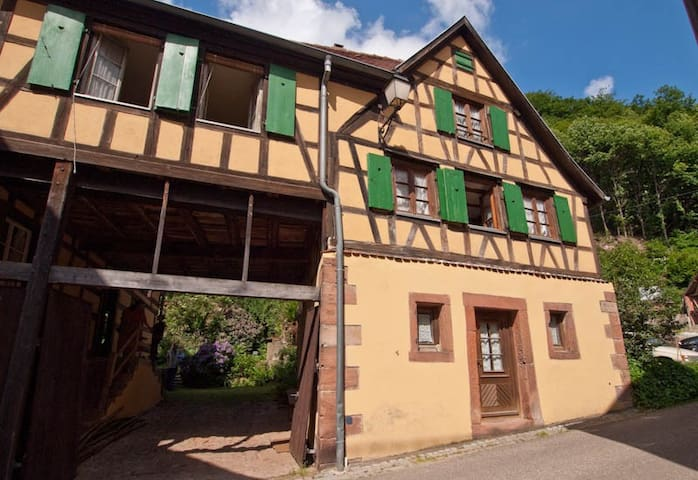 Alsace holiday house with garden - Oberbronn - Huis