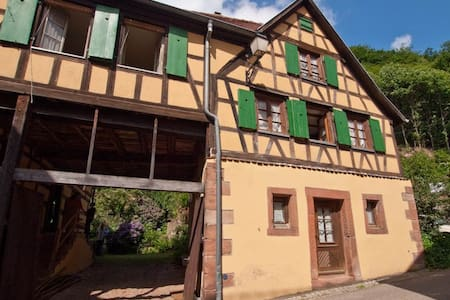 Alsace holiday house with garden - Oberbronn