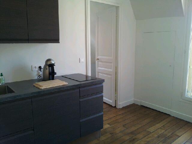 Appartement confortable dernier étage