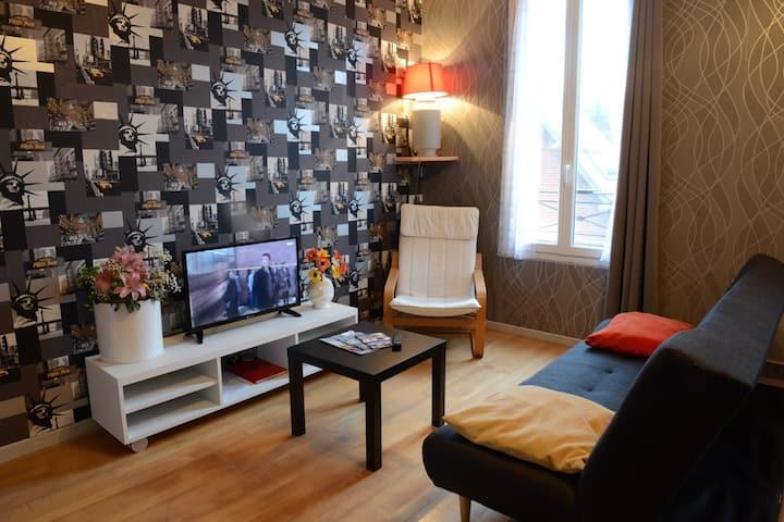 3 bedroom apartment, 2nd floor, Mers les Bains
