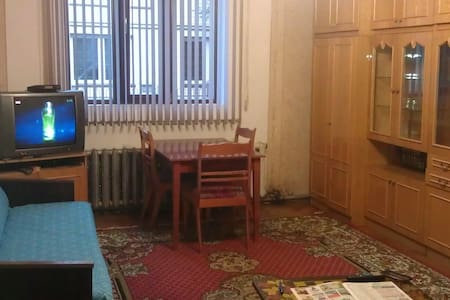 The apartment is in a private home  - Chernivtsi - Apartment