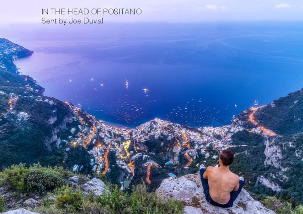 5 MINUTES FROM PETITE MAISON: IN THE HEAD OF POSITANO Sent by Joe Duval