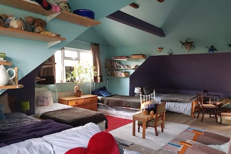 Stunning very spacious converted attic