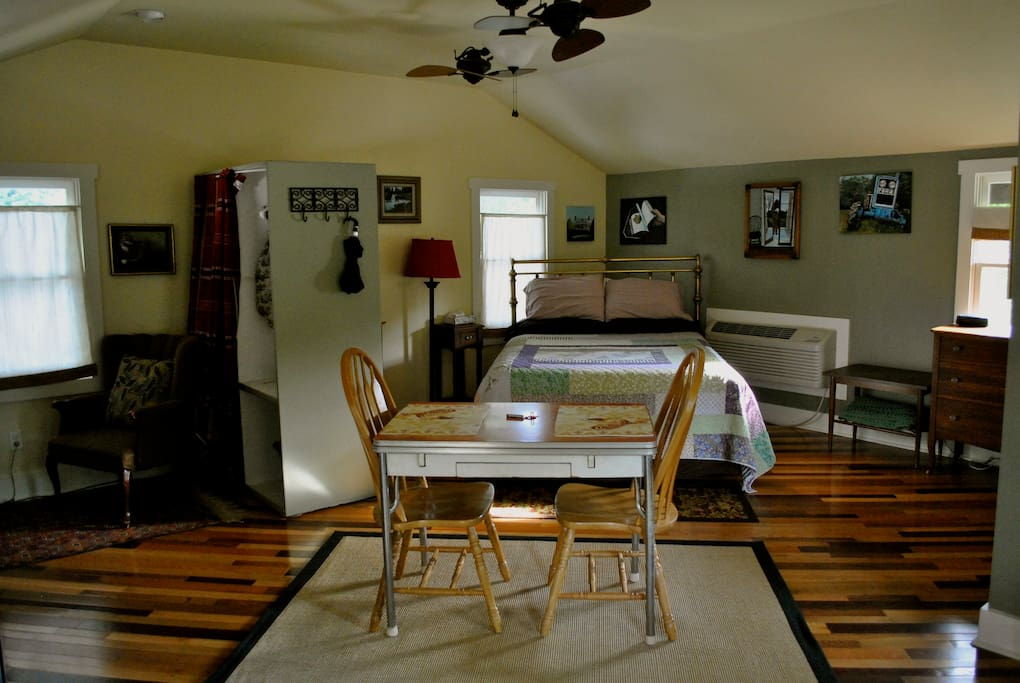 Large studio apartment style loft for two!