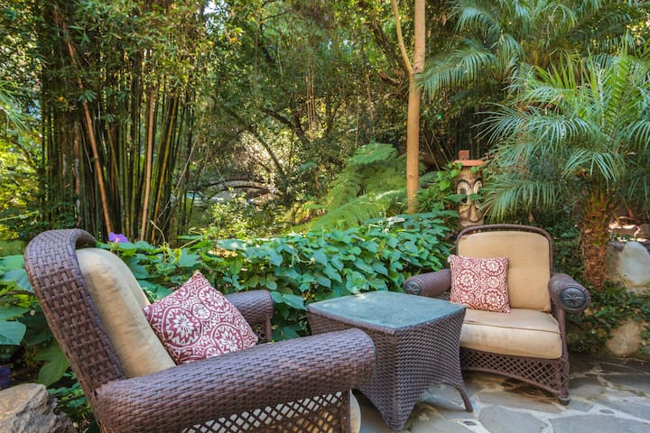 One of the many patios available for your use during your stay.