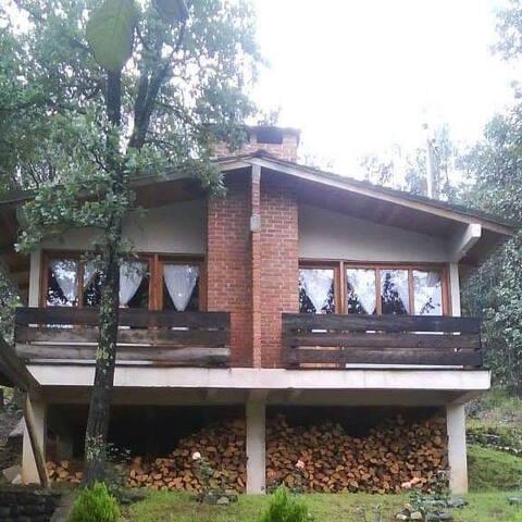 Cabaña Familiar 6 personas -2 habitaciones