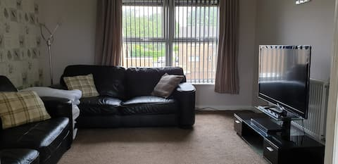 Well equipped 1 bed appartment near peak district