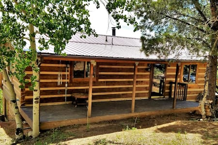 Private Cripple Creek Log Cabin with Gorgeous View - Cripple Creek - Haus