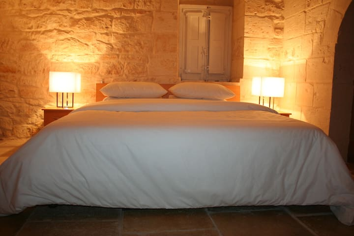 Private room with bathroom in historical village.