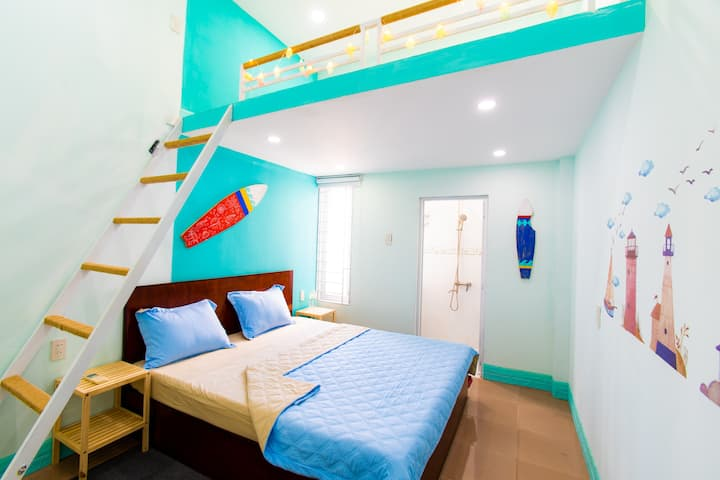 MEGI HOMESTAY -  Ocean 2 - Family room for 4
