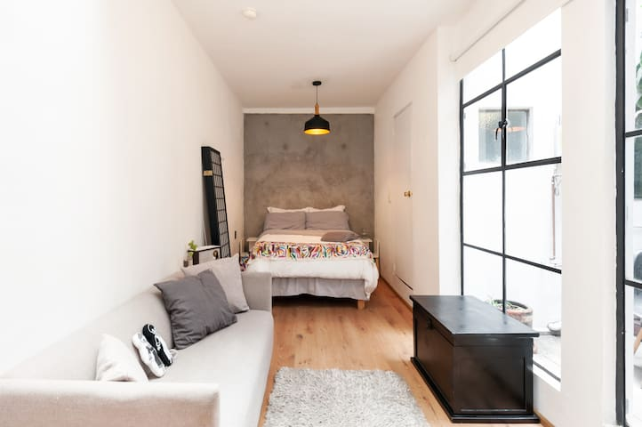Relax Guest Loft in Condesa Super Experience