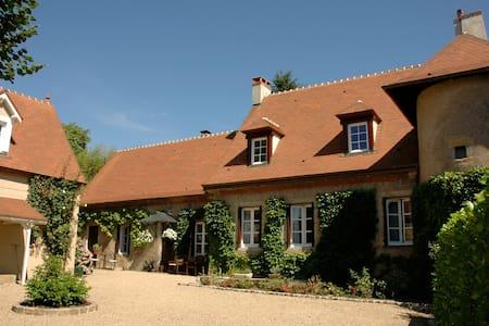Luxe design vakantiehuis Clos Laraison Bourgogne - Issy-l'Évêque - Rumah
