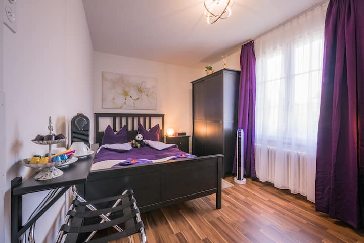 Queensize Zimmer (Bed & Breakfast Villa Alma)