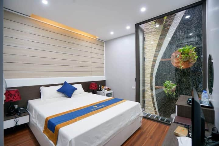 Double Green  Bed - Vinhomes Dragon Bay Hạ Long