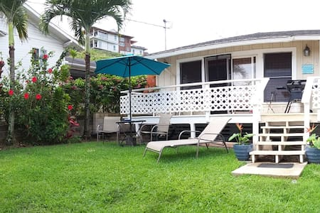 Lanikai Cottage -1 Block from beach - 凯鲁瓦 - 宾馆