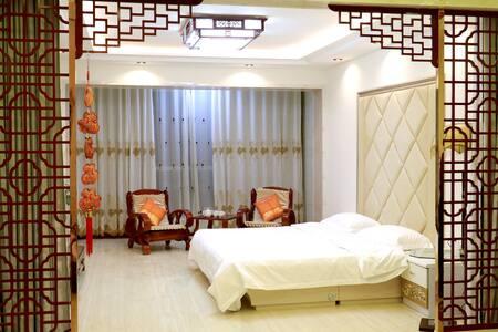 近张掖火车西站温馨舒适3居室怡水人家家庭宾馆