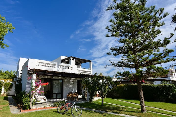 See Canal Villa with private yacht and car parking
