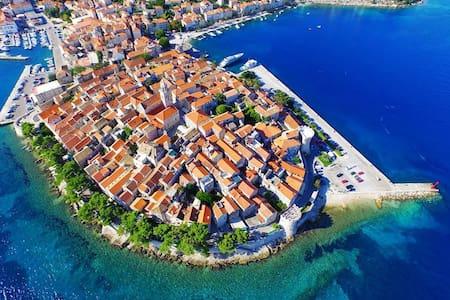 "Adriatic Pearl Spectacular View ""B"" - Curzola - Appartamento"