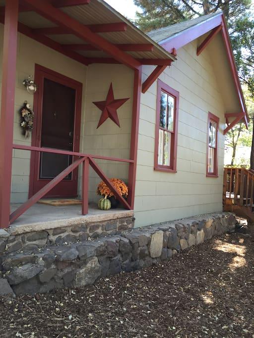 The front door . . . welcome home!