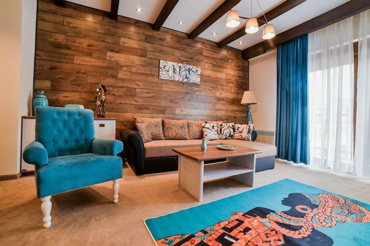 """Four - bed apartment in Apart-hotel  """"Perla"""""""