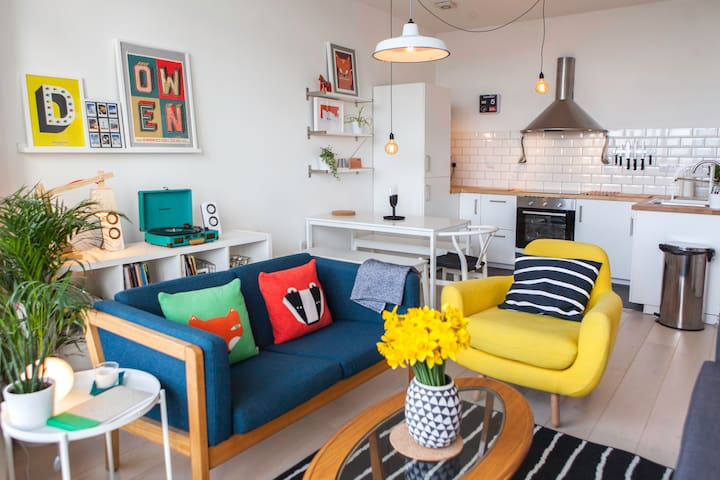 Scandi apartment with sea views! - Margate - Flat