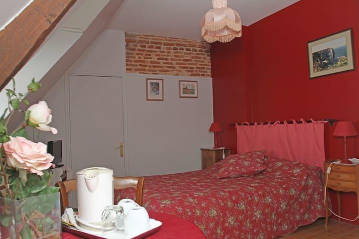 chambre rose - Saint-Jouin-Bruneval - Domek gościnny
