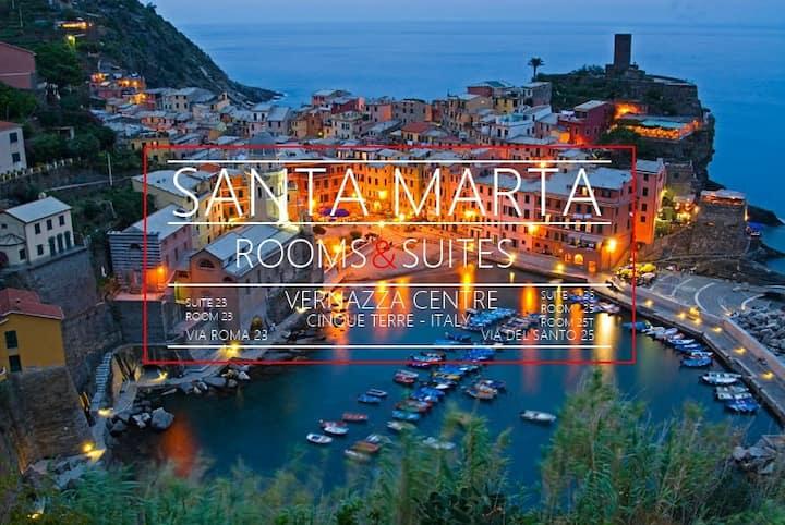 Santa Marta Rooms - Room With Terrace In Vernazza