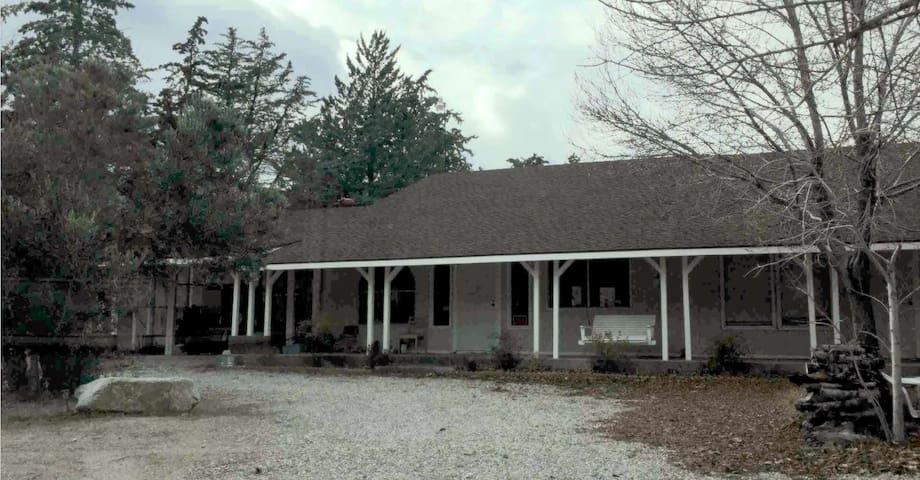 Organic Ranch for Thanksgiving, Christmas or? - Lake Hughes - House