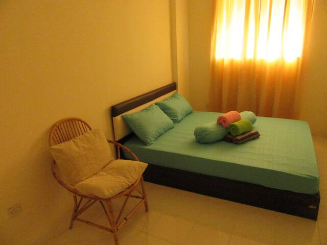 Budget, clean and cozy: Double Room near the Beach - Batu Ferringhi - อพาร์ทเมนท์