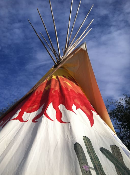 Beautiful Lakota Tipis