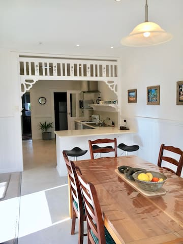 Dining Area with views of Kitchen