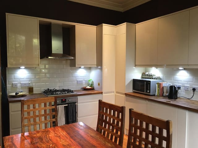 Stunning flat, bright room- 15 mins to Kings Cross