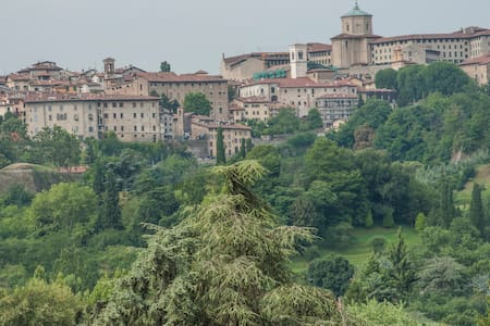 ReGo Apartments- Transfer ✈ 24/24 H Panoramic View - Bergamo