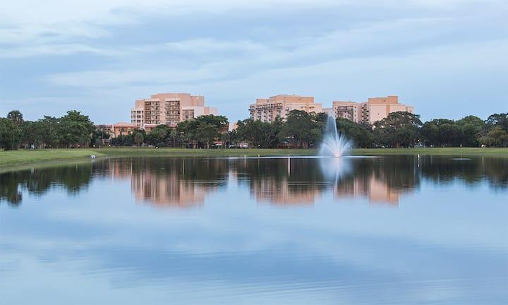 2 Bedroom Condo Club Wyndham Palm-Aire Resort