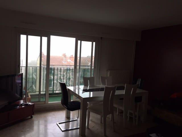 Beautiful family apartment close to Paris - Rueil-Malmaison - Leilighet