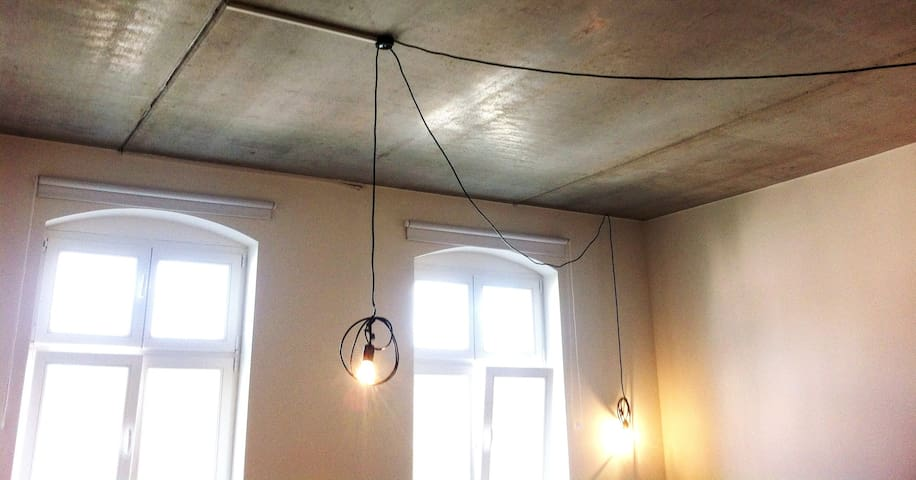 Lamps in the 1st room