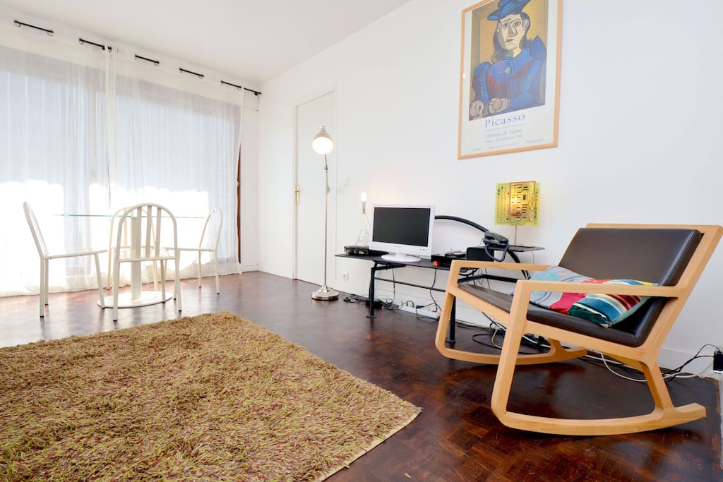 Loft atmosphere montparnasse 43 m2 appartements louer paris le de fra - Achat loft ile de france ...
