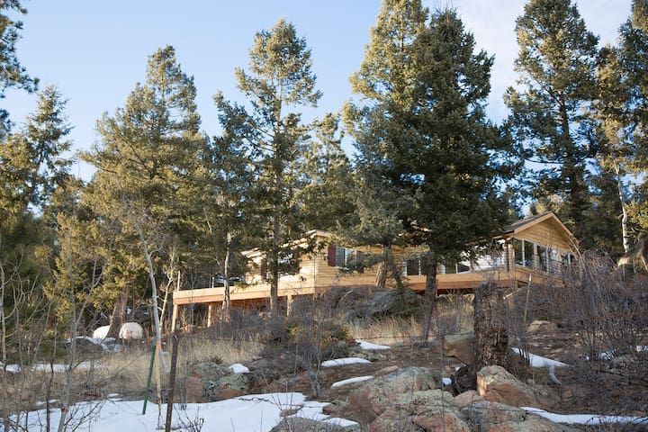 SPRING SPECIAL $199!! The Cabin at Yankee Creek - Evergreen - Cabaña
